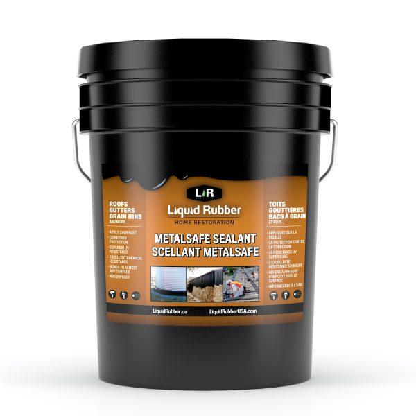 Liquid Rubber MetalSafe Sealant - 5G, 18.9L