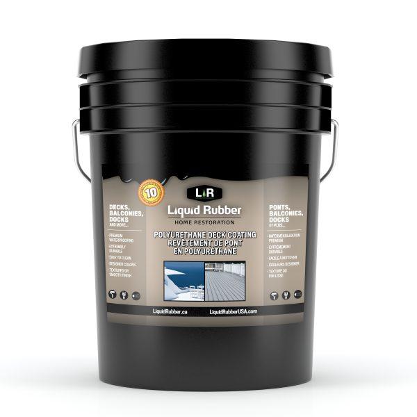 Liquid Rubber Polyurethane Deck Coating - 5G, 18.9L